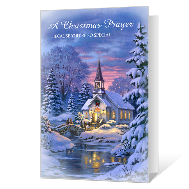God's Love Printable Christmas Cards