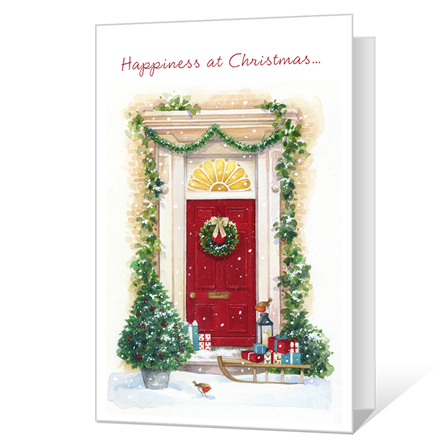 Happiness at Christmas Christmas Cards
