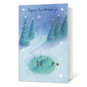 Enjoy the Holidays greeting card