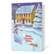 Across the Miles greeting card
