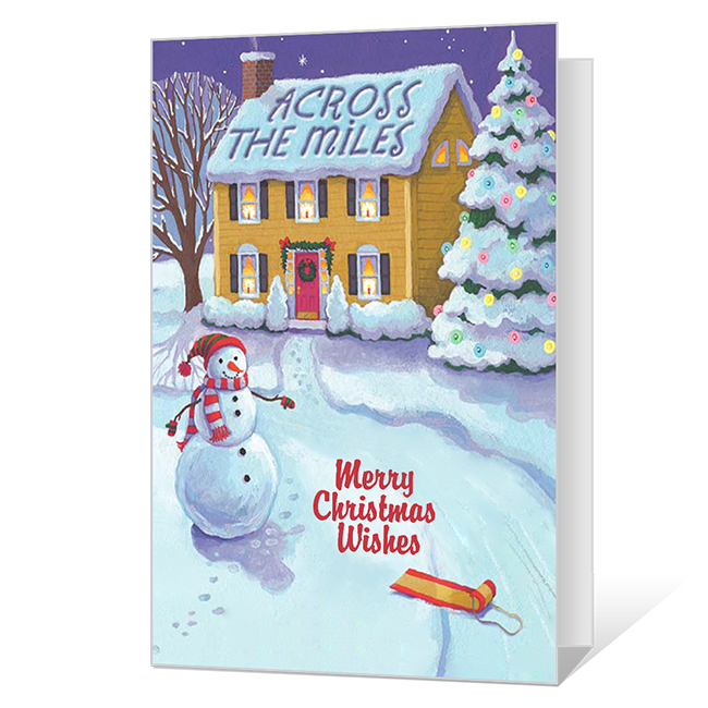 Across the Miles Christmas Cards