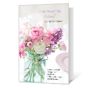 Gratifying image within printable mothers day cards for wife