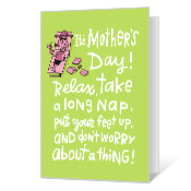 Funny Mother's Day Card Mother's Day Cards