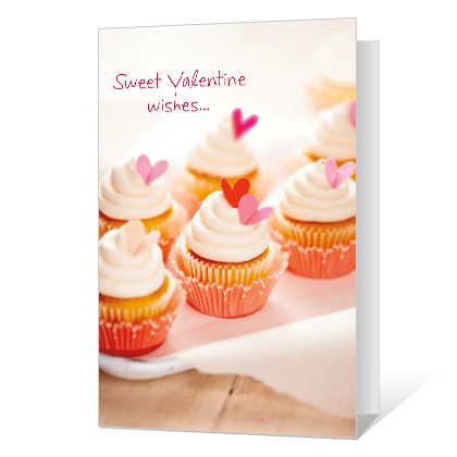 Sweet Wishes Valentine's Day Cards