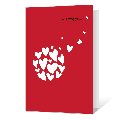 Valentine Wish Valentine's Day Cards