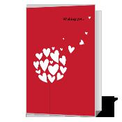 Valentine Wish greeting card