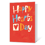 Happy Hearts greeting card