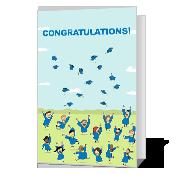 Smart Grad greeting card