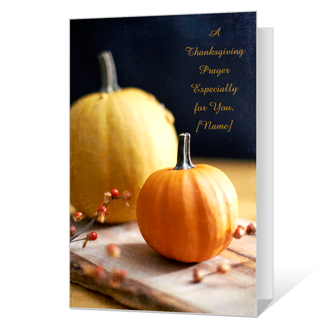 A Thanksgiving Prayer Thanksgiving Cards