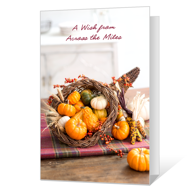 Across the Miles Thanksgiving Cards