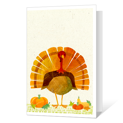 Happy Turkey Day Thanksgiving Cards