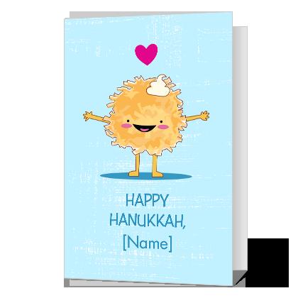 Love You Latkes Hanukkah Cards