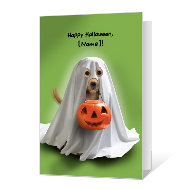 Paws for Fun Halloween Cards