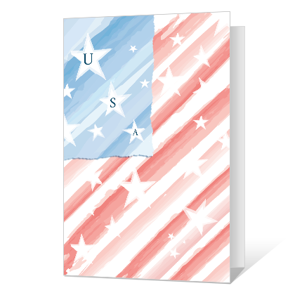 Unselfish Service Veterans Day Cards