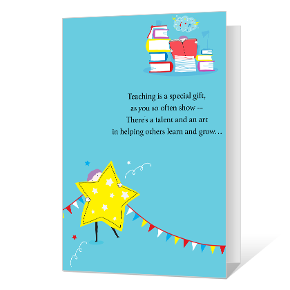 You're Appreciated National Teacher Appreciation Week Cards