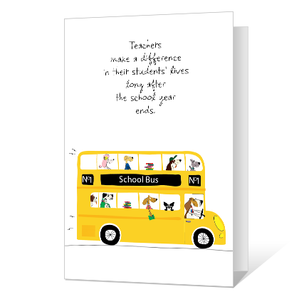 A Wonderful Teacher National Teacher Appreciation Week Cards