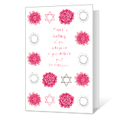 Pride on Bat Mitzvah Bat & Bar Mitzvah Cards