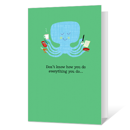 You're Terrific Administrative Professional's Day Cards