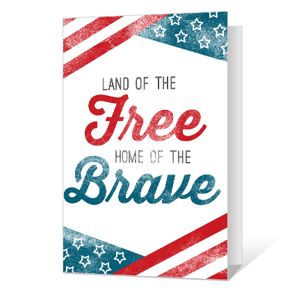 America Forever Independence Day Cards
