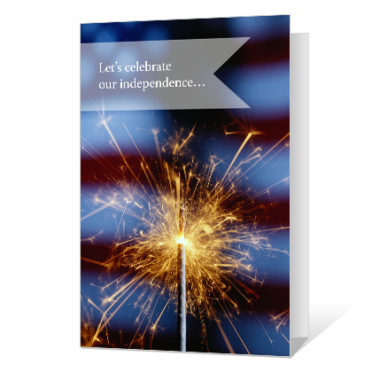 Let's Celebrate Independence Day Cards