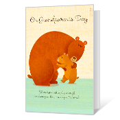 Sending a Hug Grandparents Day Cards