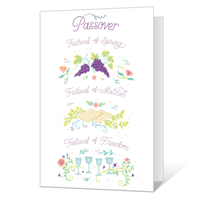 Passover Season Passover Cards