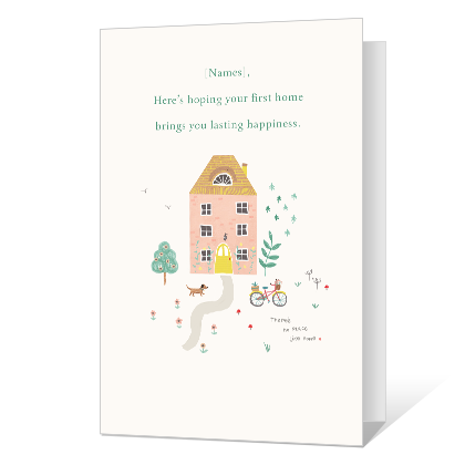 Your First Home New Home Cards