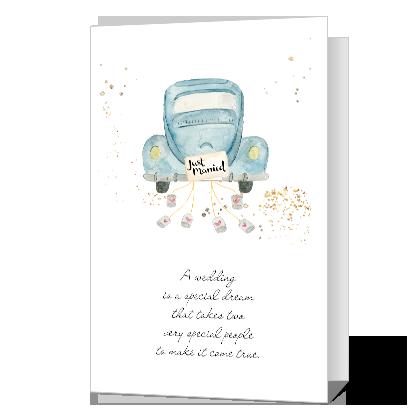 Wedding Happiness Wedding Cards