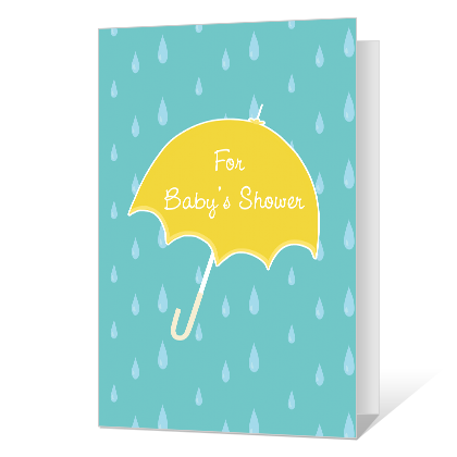 A Special Gift for Baby Baby Shower Cards
