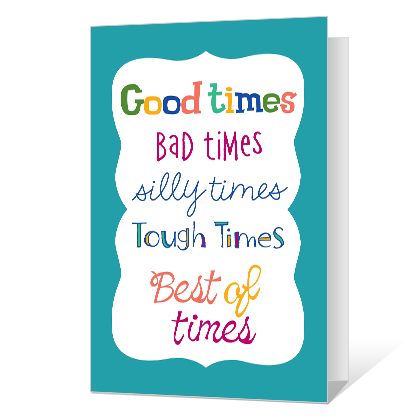 Friends for Life Friendship Cards