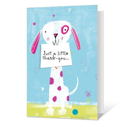 For Every Little Thing Thank You Cards