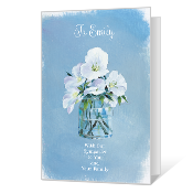 photo relating to Free Printable Sympathy Cards known as Printable Sympathy Playing cards Blue Mountain