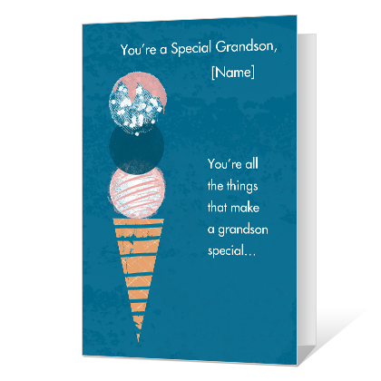 Gifted Grandson Birthday Cards