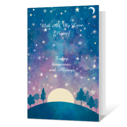 With Love Birthday Cards