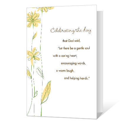 Celebrating the Day Birthday Cards