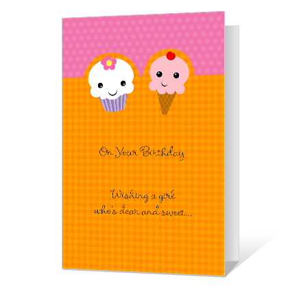 Special Treat Birthday Cards