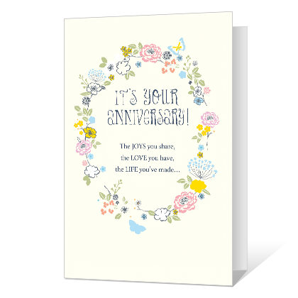 Wonderful Couple Anniversary Cards