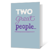 Incredible Couple Anniversary Cards
