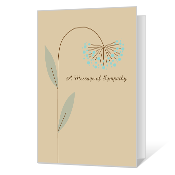 Heartfelt Thoughts Sympathy Cards