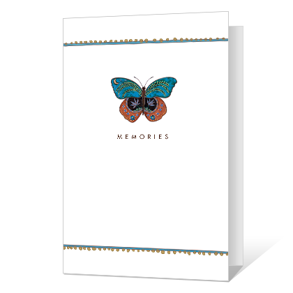 Warm Memories Sympathy Cards