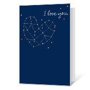 In the Stars Printable Dating Cards