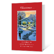 Wishes for You Printable Christmas Cards