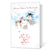 You're So Wonderful Printable Christmas Cards