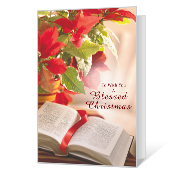 Forever Blessed Printable Christmas Cards