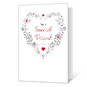 Special Friend Valentine's Day Cards