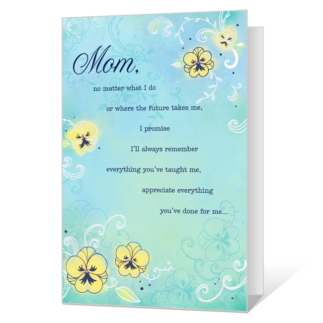 Love You, Mom Mother's Day Cards