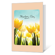 Warm Thoughts Mother's Day Cards
