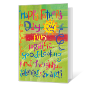 Terrific Dad Father's Day Cards