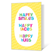 Happy Hugs Easter Cards