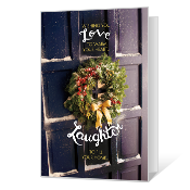 Love, Laughter & Light Printable Season's Greetings Cards